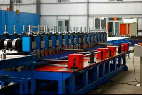 خط تولید چهارچوب فلزی(فرم درب ضدسرقت)