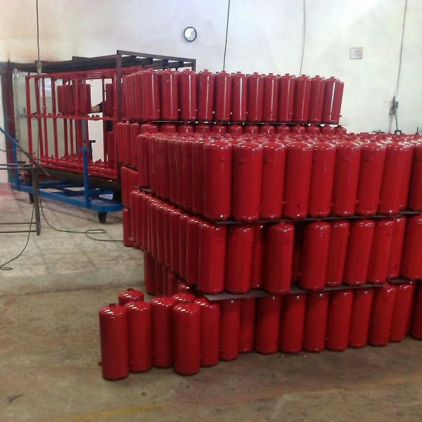 خط تولید کپسول آتشنشانی (اتومبیل،خانگی،صنعتی)