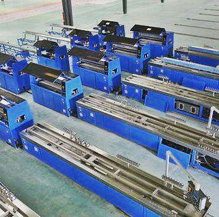 طراحی و ساخت خط تولید پروفیل
