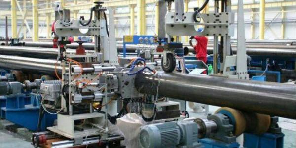 طراحی و ساخت خط تولید لوله آهنی